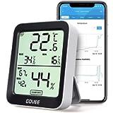 Govee Termometro Igrometro, accurato Misuratore Interna con Intelligenti avvisi App e Dati conservazioni sensore di…