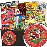 Santa | DDR Geschenkkorb | Schokoladen Paket | Weihnachtsgeschenke für Papa