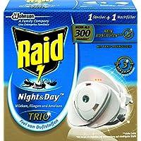 Raid Insekten-Stecker, Zum Schutz vor fliegenden und kriechenden Insekten bei Tag und Nacht, Bis zu 300 Stunden... preisvergleich bei billige-tabletten.eu