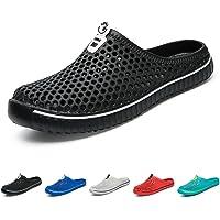 BOLOG Summer Garden Clogs Unisex Breathable Lightweight Flip Flops Quick-Dry Mesh Water Shoes Non-Slip Footwear Walking…