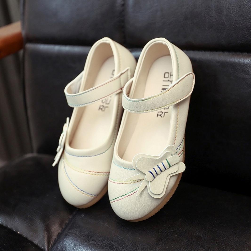Clode® Chaussures enfants fleurs solides creux occasionnels jolies filles  (4.5T, Beige): Amazon.fr: Bébés & Puériculture