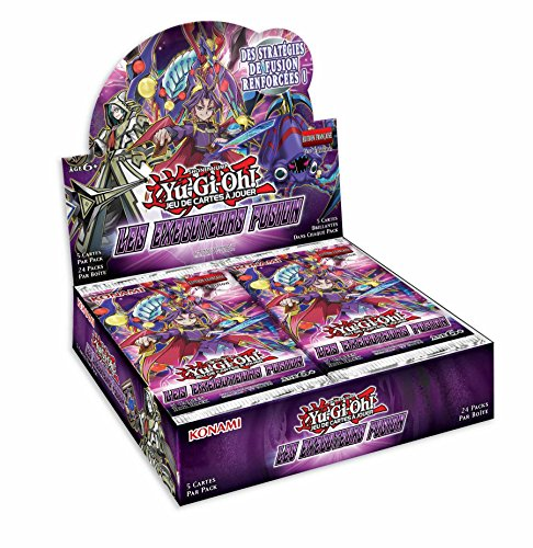 Yu Gi Oh Booster Packung mit 24 Boostern, Vollstrecker Fusion