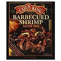 Cajun King Sauce BBQ Shrimp 1.0 OZ (Pack of 12)