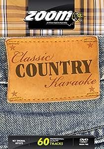 Zoom Karaoke DVD - Classic Country Karaoke - 60 Songs