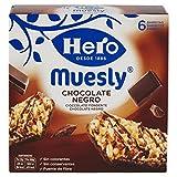Hero Barrette ai Cereali Muesli Cioccolato Fondente - 5 Confezioni da 6 X 23 g