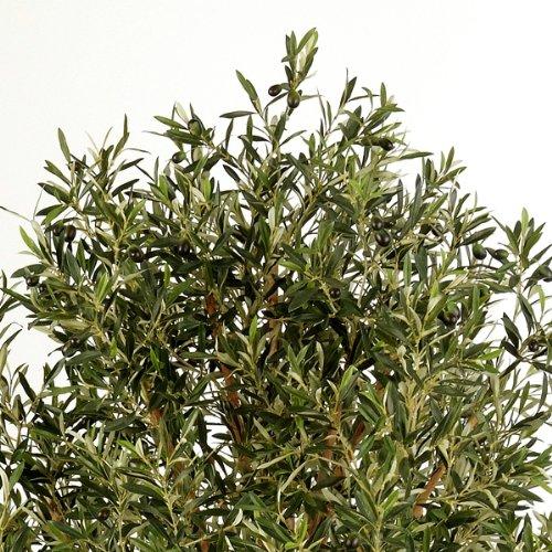 artplants Künstlicher Olivenbaum-Hochstamm mit 6968 Blättern, 180 cm – Künstlicher Baum/Deko Baum