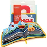 Beiens Transportation Theme Cloth Books - Soft Activity Books for Baby/Toddler Learning Story Book Life Education, Learning t
