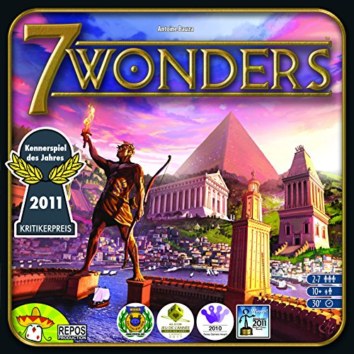 Imagen principal de Asmodee 7 Wonders - Juego de mesa (en inglés)
