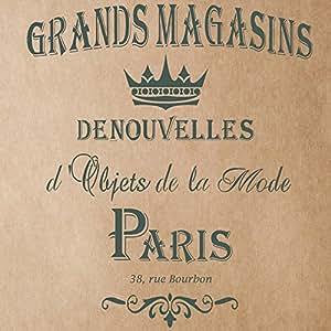 J BOUTIQUE pochoirs Grands Magasins Pochoir pour peinture signes l'artisanat créatif bijoux décoration DIY murale Motif pochoir
