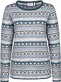 Fjällräven Övik Folk Knit Sweater Pullover Women - Damen Wollpullover