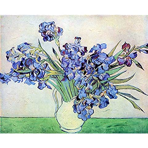 The Museum Outlet – Iris # 2 by Van Gogh – A3 Poster