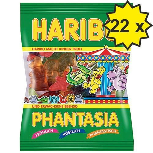 Haribo Phantasia (22x 200g Beutel)
