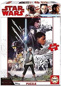 Educa Borrás- Star Wars Los Últimos Jedi Puzzle de 1000 de Piezas (17465)