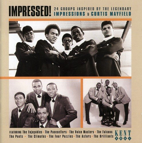 Impressed! 24 Groups Inspired By The Legendary Impressions & Curtis Mayfield by The Players (2002-02-19) (Curtis Cd-player)