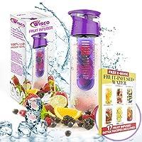 Fruit Infuser Water Bottle BPA Free 800ML