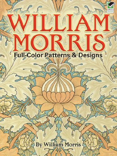 William Morris Full-Color Patterns and Designs (Dover Pictorial Archive) (English Edition)