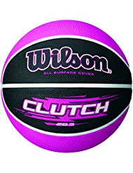 Wilson Ballon Basketball Extérieur, Surface Rugueuse, Asphalte, Granuleuse, Sol synthétique, Taille