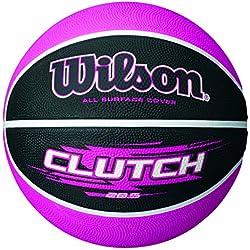 Wilson Clutch Balón, Unisex, Negro / Rosa, 6
