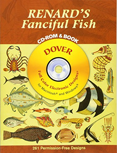 Renard's Fanciful Fish CD Rom and Bk (Dover Electronic Clip Art) por Louis Renard