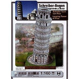 Aue-Verlag 20 x 20 x 37 cm Leaning Tower of Pisa Model Kit