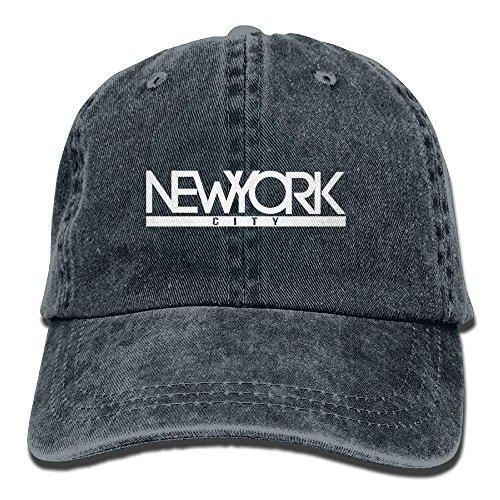 shengpeng New York City 1 Denim Hat Adjustable Mens Vintage Baseball Hat -