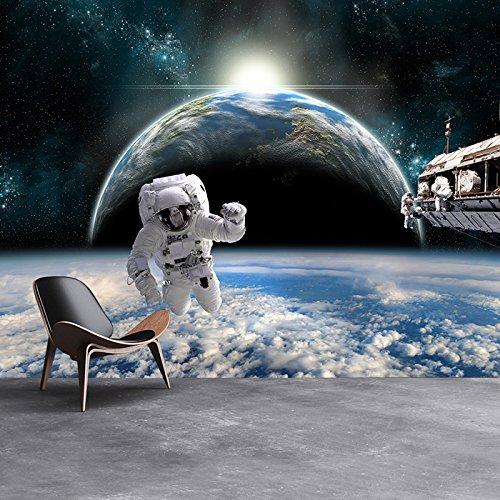 X-large Planeten Erde (Astronautenraum Wandbild Planet Erde Foto-Tapete Jungen Schlafzimmer Wohnkultur Erhältlich in 8 Größen X-Groß Digital)