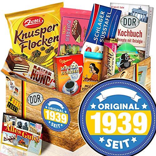 Original seit 1939   Schokolade DDR Süßigkeiten - Box   Geschenkidee 80. Geburtstag