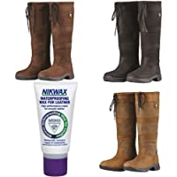 Dublin River Boots III Free Tube of NIKWAX with Every Purchase Waterproof Country Boots Standard Wide & Extra Wide Calf Free NIKWAX Gift