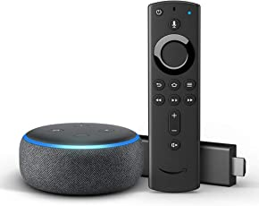Fire TV Stick 4K mit Alexa-Sprachfernbedienung  + Echo Dot (3. Gen.)