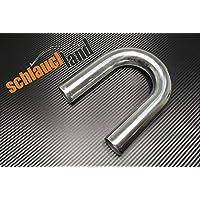 Schlauchland Alu-Bogen 180/° AD 38mm ***** Alubogen Alurohr Rohrbogen Aluminum Pipe Turbo Ladeluftk/ühler