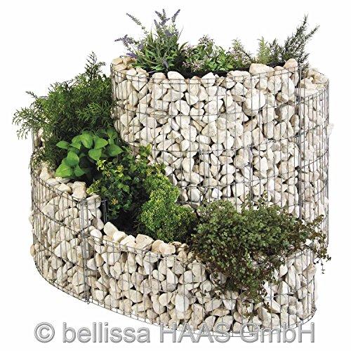Käuterspirale Komplett-Set mit Steine