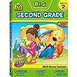 Big Second Grade Workbook: Ages 7-8