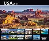 USA 2018 ? Wandkalender 58,4 x 48,5 cm ? Spiralbindung - Huber-Images