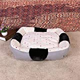 Lozse Pet Beds Warm Home method Plush pet mat comfort pet nest removable and washable for Dogs and Cats Sleeping Cushion