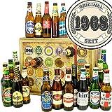 Original seit 1968 | Bieradventskalender mit Bieren aus aller Welt | Geschenke zum 50 Geburtstag Mama | INKL gratis Bierbuch