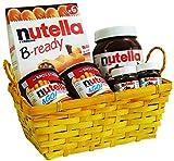 Geschenk Set Osternest mit Ferrero Nutella Spezialitäten