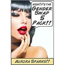 Gender Swap 5-Pack (Gender Transformation Feminization Erotica Bundle)