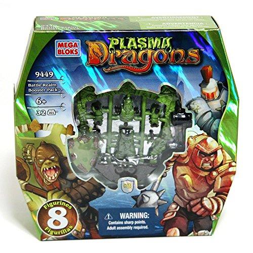 Mega Bloks construcciones Dragons Battle Realm Booster