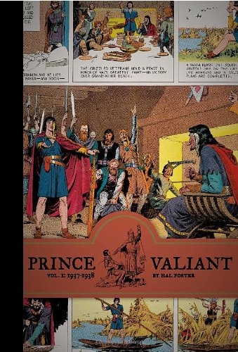 HAROLD FOSTER'S LEGENDARY MEDIEVAL EPIC, FINALLY IN ITS DEFINITIVE EDITION. Universally acclaimed as the most stunningly gorgeous adventure comic strip of all time, Prince Valiant ran for 35 years under the virtuoso pen of its creator, Hal Foster. (S...