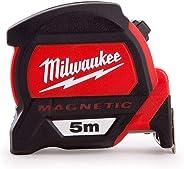 Milwaukee 4932459373 932459373 Premium magneetband, 5 m (breedte 27 mm) alleen metrisch los