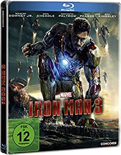 Iron Man 3 - Steelbook (B00CC21H74) | Amazon price tracker / tracking, Amazon price history charts, Amazon price watches, Amazon price drop alerts
