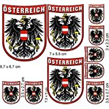 Aufkleber oval mit Text Flagge Baskenland 80/ x 60/ mm.