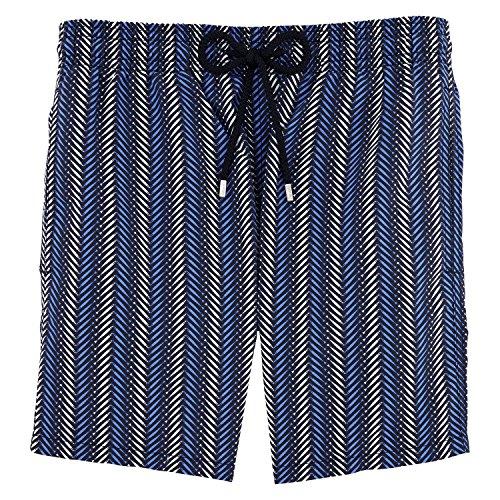 Vilbrequin V Fish Badeshorts - Herren Navy Blue