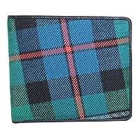 Kilter 100% Scottish Tartan & Real Leather Mens Wallet - Argyll Ancient