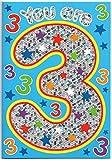 Kinder Geburtstagskarte für drei (3) Jahr Alten Jungen–Kostenloser 1st Class Post (UK)