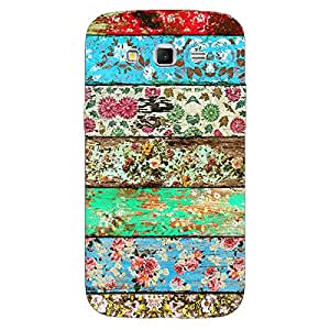 Jugaaduu Floral Pattern Back Cover Case For Samsung Galaxy Grand 2