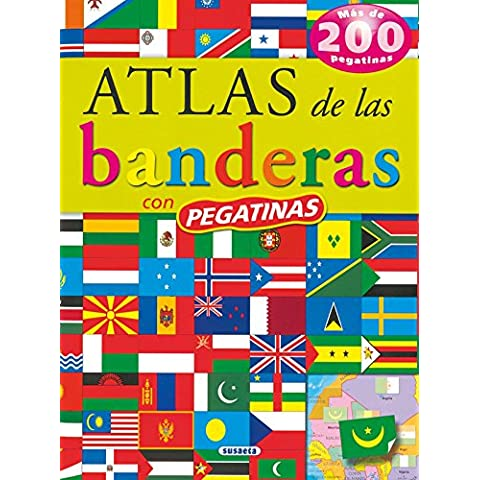 Atlas De Las Banderas (Pegatinas) (Atlas De Animales Con Pegatina)