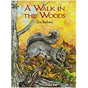 A Walk in the Woods Coloring Book (Dover Coloring Books)