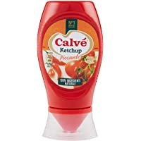 Calvè Ketchup Piccante Top Down - 250 Ml