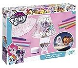 Totum-My Little Pony Bastel-Set: Gestalte deine eigene Sparkle-Lampe mit LED-Licht zum Ausmalen in verschiedenen Farben